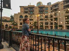 You still can find some hidden calm places even in Dubai around Burj Khalifa. Top Place, Burj Khalifa, Dubai, Louvre, Calm, Lights, Places, Travel, Viajes