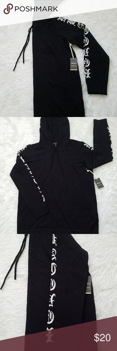 WHATEVER Forever 21 Contemporary Hoodie Street wear at its finest. Whatever hoodie Forever 21 Tops Sweatshirts & Hoodies