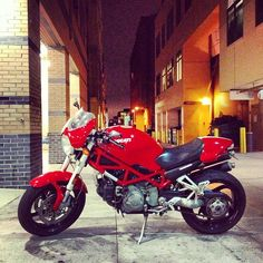 Ducati monster... My favorite!!