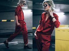 Mikuta - Ganni Shirt, Ganni Pants, Anderne Sunglasses, Zara Shoes - OH MY RED!