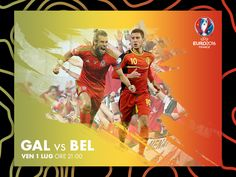 Galles vs Belgio by Rocco Gallo