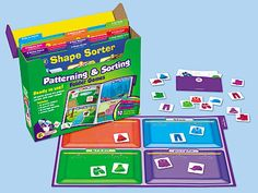 Want so bad! Patterning & Sorting Folder Game Library - Pre-K-Gr. 1 at Lakeshore Learning