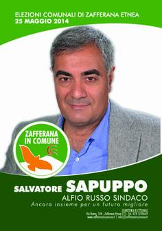 I nostri Candidati: Salvatore Sapuppo #ZafferanainComune #AlfioRussoSindaco