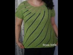 Blusa en espiral parte 1 nuevo video - YouTube