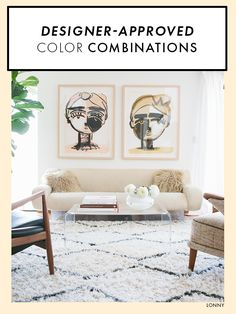 Perfect designer-approved color combinations for your home.