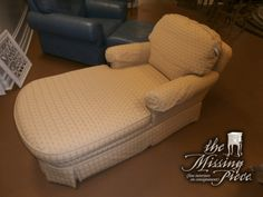 Sit back and relax in this burgundy and gold patterned Ethan Allen chaise. Measures 61*33*35.