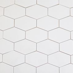 Ceramic White 5x3 Stretched Hex Tile Milk | Modwalls Designer Modern Tile