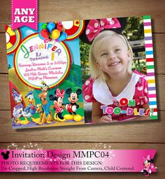 99 Best Minnie Mouse Clubhouse Invitations Party Printables Images