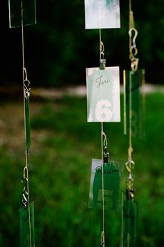 Seating cards | photo by Heather Nan photography