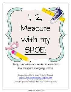 Use this fun activity to help your students learn to measure with non-standard units!  This 20  page pack includes the adorable