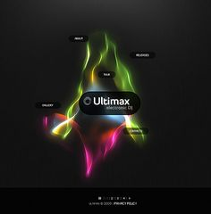 Ultimax Electronic Flash Templates by Hugo Dj Website, One Page Website, Flash Templates, Website Template, Blog, Blogging