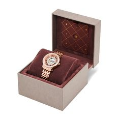 Fossil Limited Edition Three-Hand Mechanical Curiosity Stainless Steel Watch - Rose LE1019 | FOSSIL®