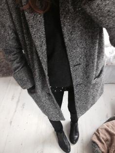 Grey coat http://instagram.com/josie_stewart