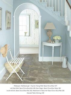 Краска Little Greene цвет Bone China Blue Deep (184) — купить в интернет магазине Eparket, цены, отзывы