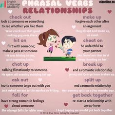 Phrasal Verbs: Relationships
