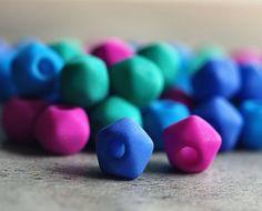choice of two colour mixes 4mm Full Strand Czech Glass Firepolish beads