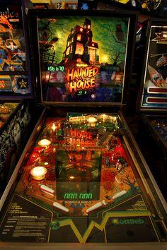 Haunted House -Brings back memories Flipper Pinball, Pinball Games, Pinball Wizard, Arcade Games, Marble Machine, Secret Passage, Trap Door, Retro Images, Children's Toys