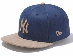 online store 2add0 762b1 NEW ERA x MLB「New York Yankees Denim Corduroy」59Fifty Fitted Baseball Cap  Denim