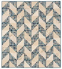 Sugar Pine Quilt Pattern by Edyta Sitar of Laundry Basket Quilts for sale online Two Color Quilts, Blue Quilts, White Quilts, Scrappy Quilts, Denim Quilts, Laundry Basket Quilts, Laundry Baskets, Quilts Online, Blue Nails