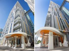 Resultado de imagen para torres de viviendas en miami Miami, Plywood Furniture, Design Studio, Design Design, Karim Rashid, Grand Designs, Lounge, Opera House, Architecture Design