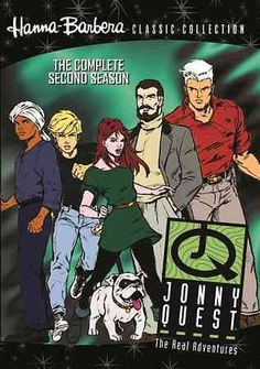 This release collects every episode from season two of THE REAL ADVENTURES JONNY QUEST, an animated remake of '60s classic comes of age in these chronicles of a teen's escapades as he travels the wor