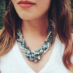 Shop our bestselling Turquoise Torsade on my c+i boutique!