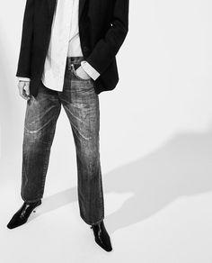 Imagen 2 de JEANS OVERSIZE SELVEDGE de Zara