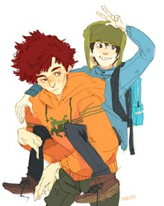 Broflovski bros uwu I think whenever someone mentions Kyle Ike would be super proud and gloat the fact that Kyle's his brother.