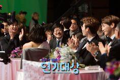 cool Actor Kim Soo Hyun at 2014 SBS Drama Awards