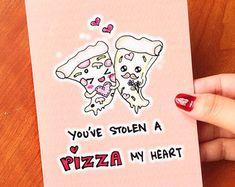 Tarjeta de San Valentín divertida tarjeta por LoveNCreativity