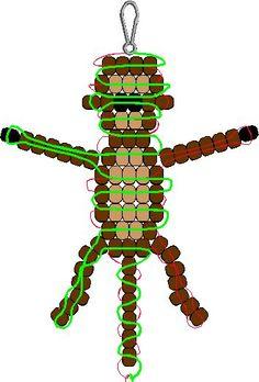 pony bead patterns monkey