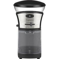 Capresso Coffee Burr Grinder in 25% off Kitchen Electrics | Crate and Barrel