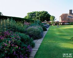 Traditional Garden in Sussex, England