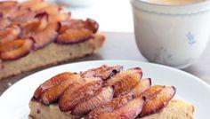 Zwetschgenkuchen mit Grießcreme