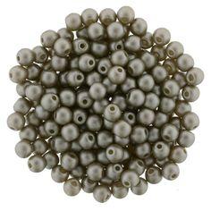 5-03-25005 Glass Pearls 3mm : Brown Sugar