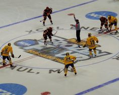 2011 Frozen Four NCAA Hockey Championship. UMD Bulldogs vs. Michigan. April 9, 2011 at Xcel Energy Center, St. Paul. In an overtime thriller, Duluth won their first Men's National Championship in school history.