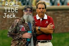 Roll Tide Jack!!!! 2 awesome people!