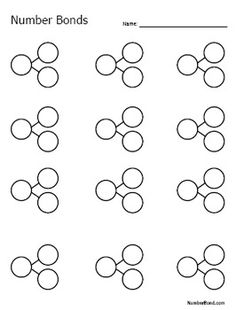 Bond Worksheet Number Bond Worksheet - Kelly G - Number Bond Worksheet - Kelly G - Math Classroom, Kindergarten Math, Teaching Math, Maths, Math Resources, Math Activities, Number Bonds Worksheets, Math Worksheets, Math In Focus