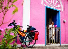 Nr.72 Radreise Mexiko – Der lange Weg nach Guatemala | Pushbikegirl - Solo female cycling around the world