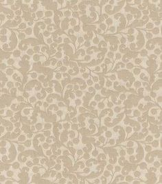 """Waverly Upholstery Fabric 55""""-Muscari/Bisque"""
