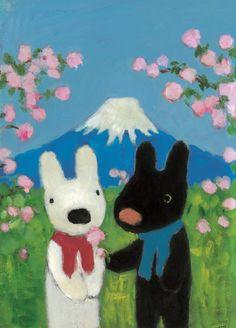 絵本『リサとガスパール』日本語版刊行15周年の展覧会、未公開作品の原画や初期のラフスケッチなどを公開 6枚目