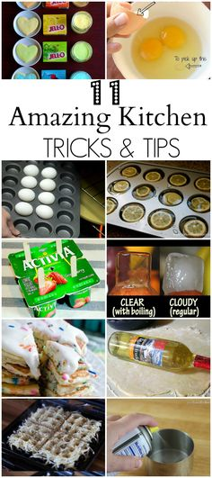 Amazing Kitchen Tips and Tricks - I had no idea about some of these