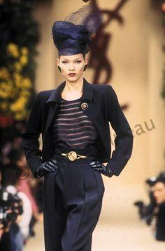 Haute couture été 1993. Photo Guy Marineau