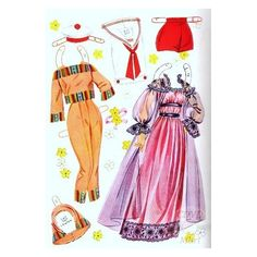 Sandra Dee paper doll clothes. One of my favorite outfits was the negligee. / eBay