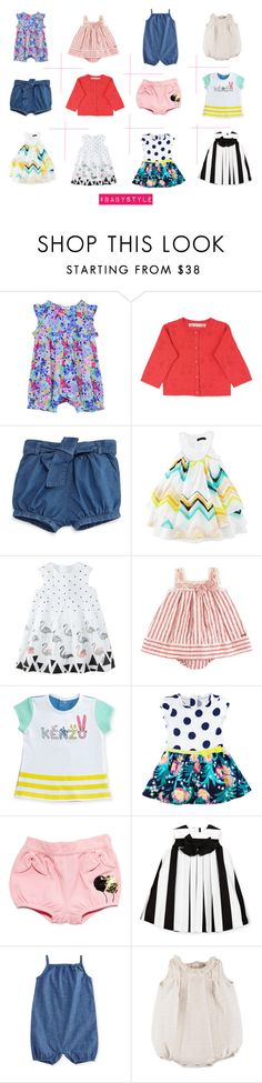 """""""Designer Baby Girl Clothes"""" by prettypearlsandpeacocks on Polyvore featuring Bonpoint, Catimini, Baby, BabyGirl, babystyle and childrenclothing"""