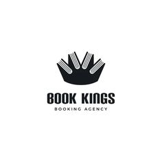 Creative logo for booking agency.
