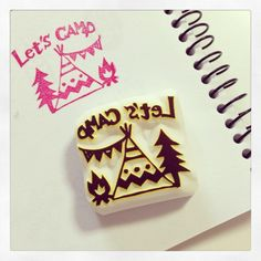 LET'S CAMP! Stamp - Pirihanko