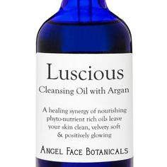 Luscious - Calming Organic Facial Cleansing Oil with Argan Oil 4 Oz by Angel Face Botanicals. $28.00. Packed with Phyto-Nutrients. Deep Cleans While It Nourishes. Exotic Natural Scent. Naturally Preservative Free. Made with Organic Ingredients. Luscious 83% Organic Cleansing Oil with Argan OilLuscious Cleansing Oil is cleansing, nourishing, regenerating & protective for all skin types. Luscious Cleansing Oil is made with exquisite Argan Oil which has been well regarded for t...