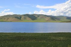 Blues and greens (Mongolia)