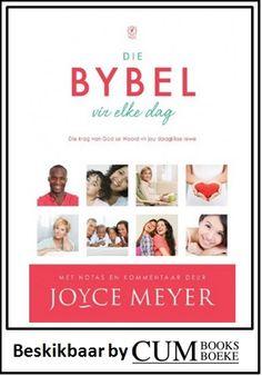 Ervaar die krag van God se woord in jou daaglikse lewe. Afrikaans Language, Joyce Meyer, Books To Read, Bible, God, Reading, Movie Posters, Report Cards, Biblia